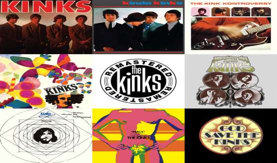 The Kinks to release specially mastered digital editions of 7 seminal albums