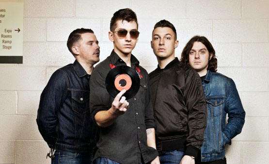 Arctic Monkeys show at Lollapalooza in Chicago