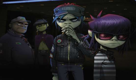 New Gorillaz Art | March 2017