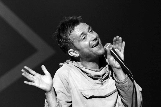 "Blur han discutido su nuevo álbum de estudio ""The Magic Whip"" con BBC Steve Lamaq..."