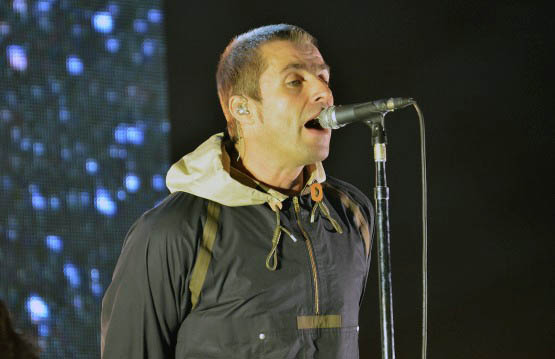 Liam Gallagher sobre su álbum solista y tocar canciones de Oasis en vivo