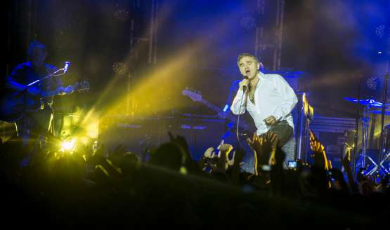 Morrissey rocks Buenos Aires...
