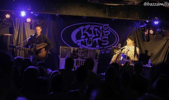 The Rifles, Unplugged Tour – King Tut's Wah Wah Hut, Glasgow 17 May 2017