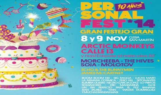 Personal Fest Argentina