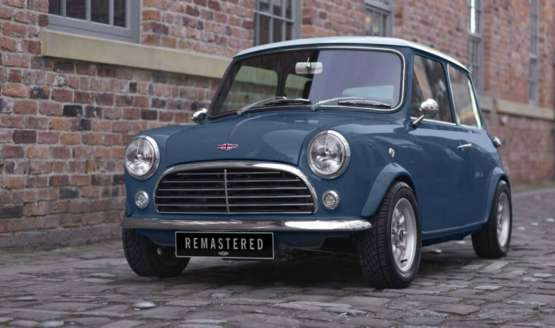 Lo nuevo de David Brown Automotive: El Mini Remastered