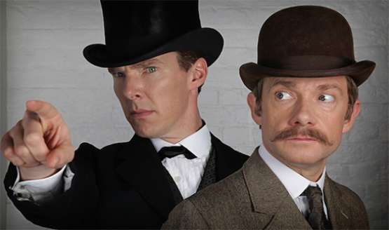 Principal photography has wrapped on the one-off special episode of Sherlock, after just over a month of filming...