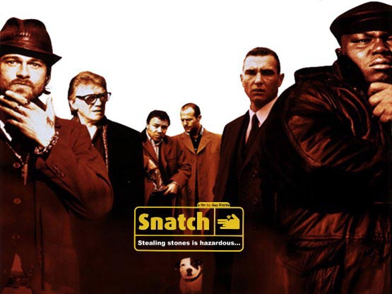 SNATCH is a 2000 comedy-crime film written and directed by British filmmaker GUY RITCHIE, featuring an ensemble cast.