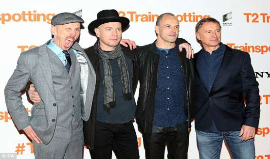 T2 Trainspotting: Avant Premiere in Edinburgh | Videos
