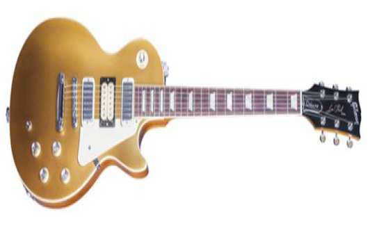 Gibson USA  Announces Limited Edition Pete Townshend Deluxe Gold Top '76