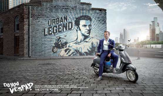 Italian football great and hardcore Oasis fan, Alessandro del Piero was named the brand ambassador of two-wheeler...