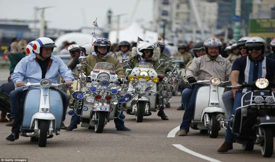 Mods Brighton Weekend1