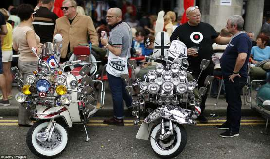 Mods Brighton Weekend2