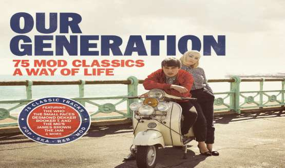 'Our Generation' has been curated by DJ and founder of Acid Jazz records, Eddie Piller and is out 21 August...