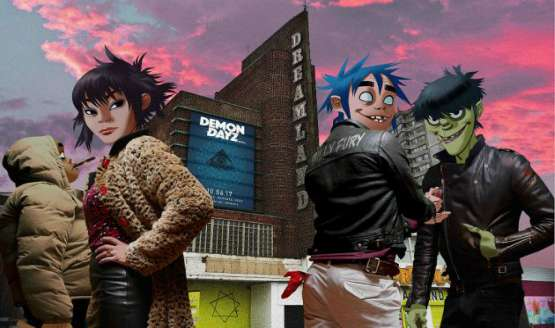 Gorillaz to launch their own Festival at Margate Dreamland